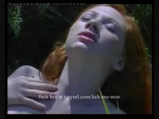 Немецкий Рыжая Очаровательны Подросток Открытый Секс Сперма