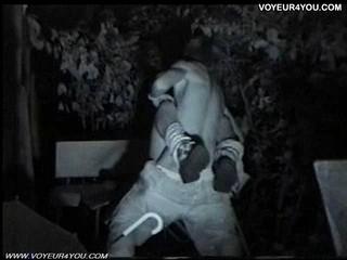 Инфракрасная Камера Voyeur Сцены Секса