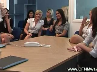 CFNM Офис Уродов Группы На Петуха
