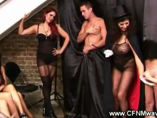 CFNM Magicician Не Wanking Обмануть