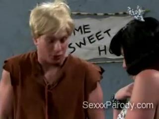 Horny Бетти Приветствует Барни Большой Член Дом