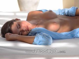 Синий Breasty Девушка С Голубыми Игрушка