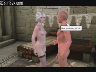 3D Билли Бабушка трахает Врач